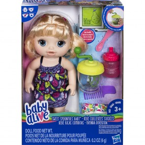 Baby Alive Sweet Spoonfuls Baby Girl - Blonde
