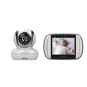 Motorola 3.5 Inch Video Baby Monitor MBP36S