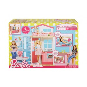 Barbie doll house toy
