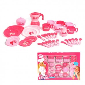barbie tea play set
