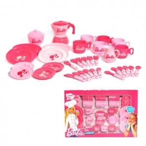 barbie tea play set