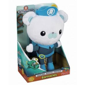 Fisher Price Captain Barnacles Plush Doll Octonaut