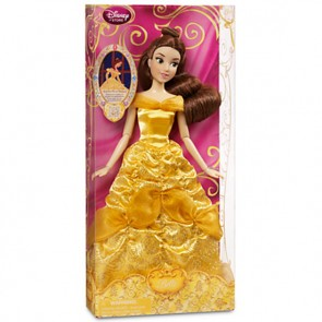 Disney Princess Belle Doll 30CM Beauty And The Beast Toy New
