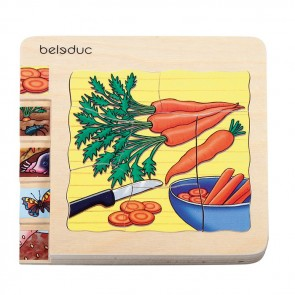 Carrot Layer Puzzle Beleduc