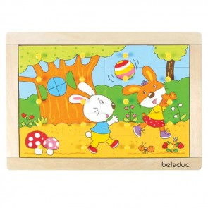 Rabbit Puzzle Beleduc Toy