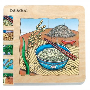 Rice Layer Puzzle Toy