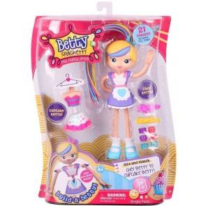 Betty Spaghetty chef betty doll cupcake