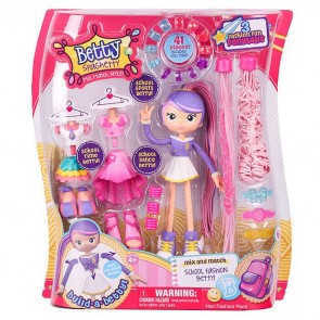 Betty Spaghetty Hair mix match doll moose