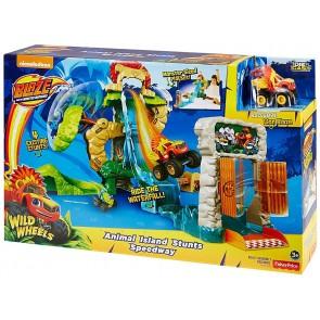 Fisher-Price Blaze & The Monster Machines Animal Island Stunts Speedway