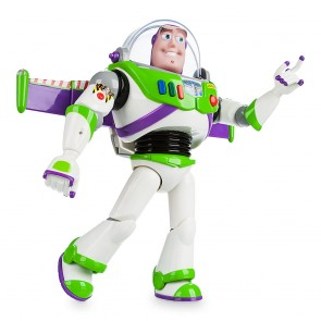 Buzz Lightyear talking figure robot