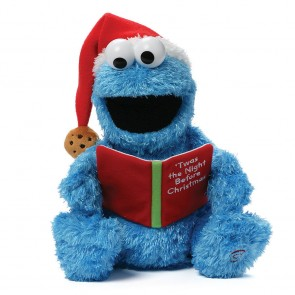 STORYTIME COOKIE MONSTER READING Plush