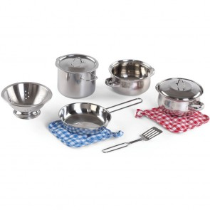 Stainless Steel Cooking Toy Set