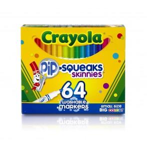 Crayola Pip-Squeaks Skinnies Markers 64 Pack