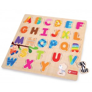 Alphabet Puzzle Toy Classic World
