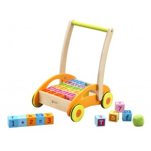Baby Walker Learning Blocks Classic World