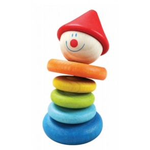 Clown Rattle Toy Classic World