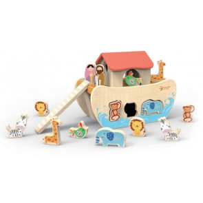 Noah's Ark Puzzle Shapes by Classic World