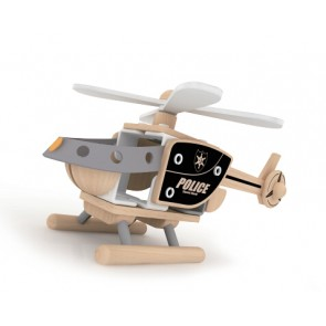 Police Helicopter Toy Classic World