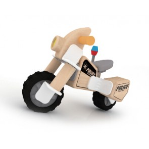 Police Motorcycle Toy Classic World