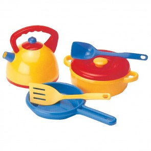 Dantoy Kettle and Pans Set Toy