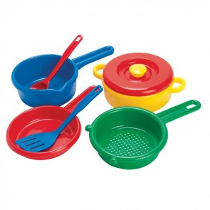 Dantoy Kitchen Cooking Set Toy