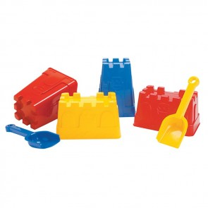Dantoy Sand Castle Moulds Toy