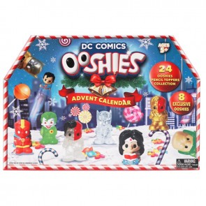 ooshies advent calendar dc comic super hero