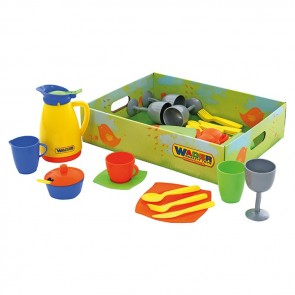 Wader Dinner Set Toy for 4 Children