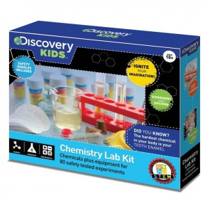 Discovery Kids Science Lab Kit with 80 Experiments