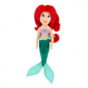 ariel mermaid plush doll