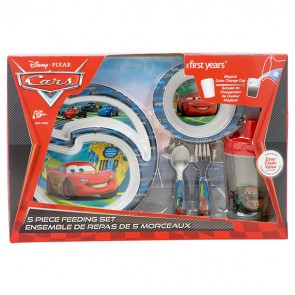 disney car kids feeding set