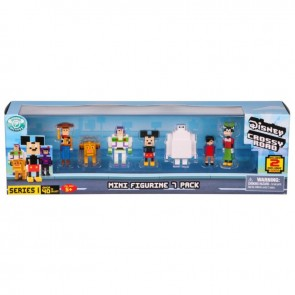Disney Crossy Roads Mini Figure 7 Pack