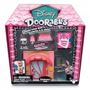 Disney Doorables  Judy Hopps Jumbeaux's Cafe Mini Stack Playset Zootopia