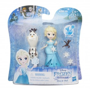 DISNEY FROZEN LITTLE KINGDOM  elsa and olaf DOLL SET