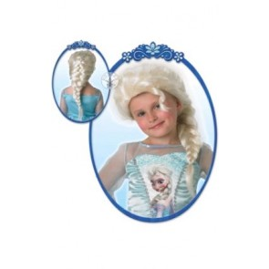 disney frozen elsa wig hair kids