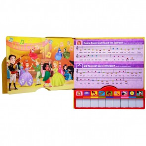 Play A Song Disney Junior Let's Play book