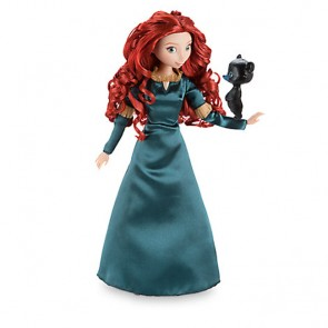 princess merida doll bear cub figure