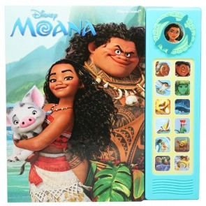 disney Moana Deluxe Sound Story Book