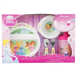princess kids feeding set