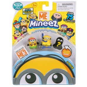 Despicable Me mineez character Pack 3