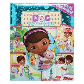 First Look Doc Mcstuffins: A Look And Find Book