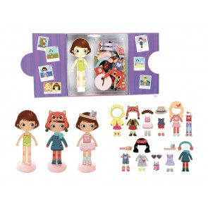 dress up magnetic toy
