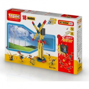 Engino Inventor 18 Model Toy Set with Motor