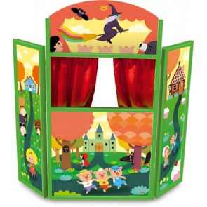 Fairy Tales Theatre by Vilac puppet show
