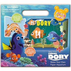 Finding Dory Make your own paper Aquarium