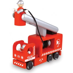 fire engine truck toy vilac