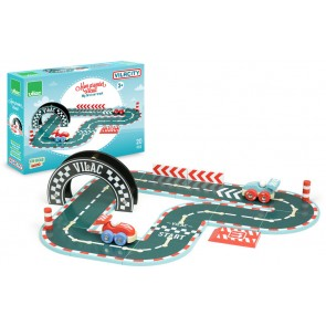 Wooden Car Race Track vilac