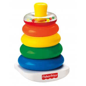 Fisher-Price baby Rock a Stack learning toys
