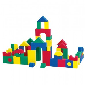 Foam Building Blocks Set