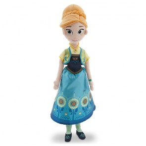 disney frozen fever anna plush doll